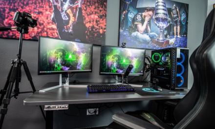 Sådan finder du det perfekte skrivebord til gaming til dit gamer-værelse