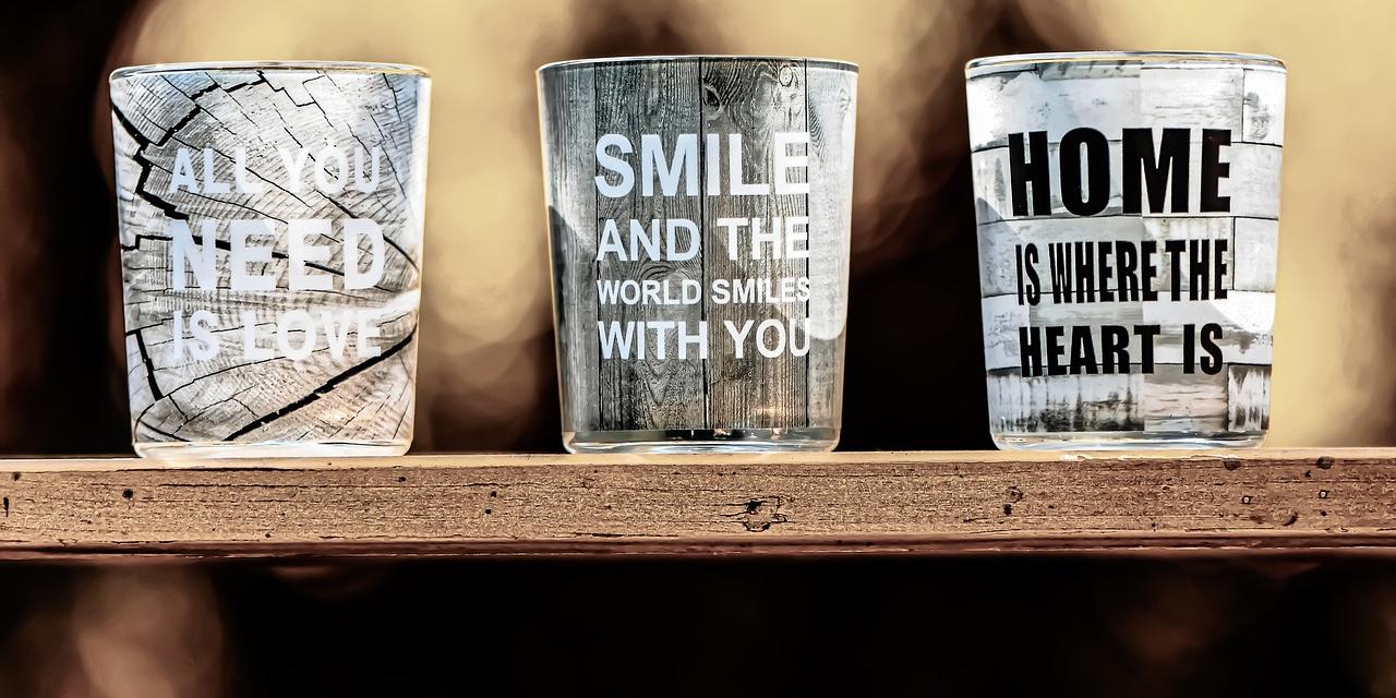 Få lavet helt personlige glas