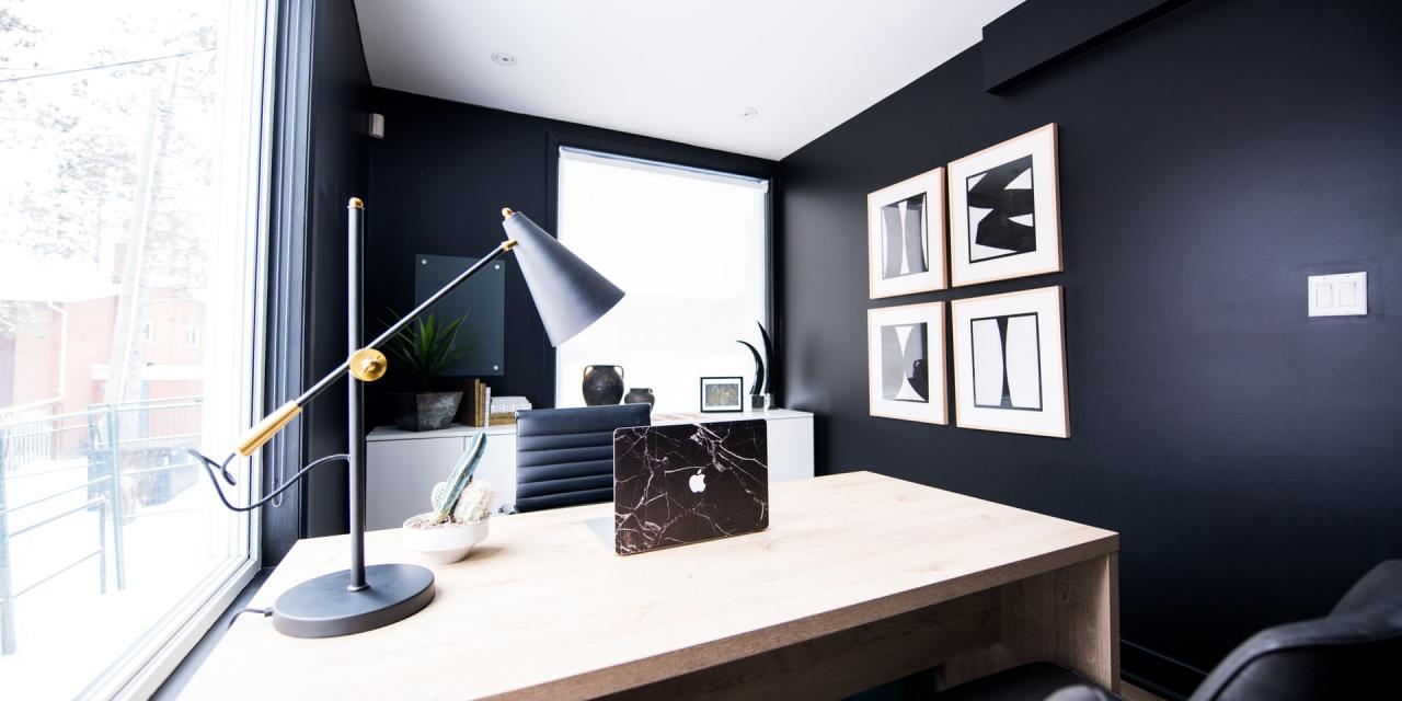Sådan kan du skabe et skattefrit kontor i hjemmet